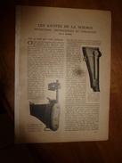 1917 LSELV :Les A-cotés De La Science (Fusil à Visée Indirecte,canon Sans-recul Pour Avions, Faire Un Thé Parfait ,etc) - Documents