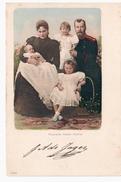 Russische Kaiser- Familie, Nicolaus II  Ca 1905 OLD POSTCARD 2 Scans - Russie