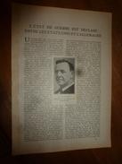 1917 LSELV :Etat De Guerre Déclaré Entre Les USA Et Allemagne; Eclairage Des Trains Des Chemins De Fer(par Paul Vignat) - Railway