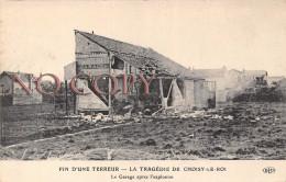 94 - Choisy Le Roi Tragédie - Fin D'une Terreur - Le Garage Après L'explosion - Choisy Le Roi