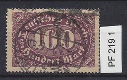 Germany 1922 Ziffern (o)  Mi.PF 219 I