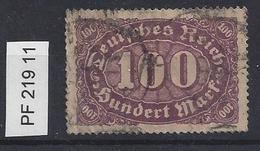 Germany 1922 Ziffern (o)  Mi.PF 219 II