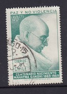 Chile 1970 Birth Centenary Of Mahatma Gandhi - Used