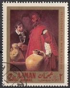"""Ajman 1968 Mi. 221 """"L'Acquaiolo Di Siviglia"""" Quadro Dipinto Da D.R. Velazquez  Barocco Paintings Tableaux - Arts"""