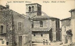 /! 9390 - CPA/CPSM - 69 - Montagny : L'église - Autres Communes