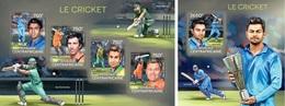 Centrafrica 2014, Sport, Cricket, 4val In BF+BF