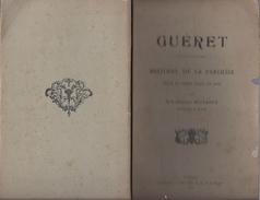 1928 GUERET HISTOIRE DE LA PAROISSE DEPUIS LES ORIGINES JUSQU'A NOS JOURS BUJADOUX + CARTE DE 1889 ( 23 CREUSE ) - Livres, BD, Revues