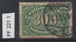 Germany 1922 Ziffern (o)  Mi.PF 221 I
