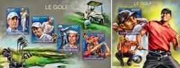 Centrafrica 2014, Sport, Golf, 4val In BF +BF