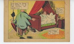 HUMOUR - Adultère - Jolie Carte Fantaisie Homme Trompé Surprenant Sa Femme Signée GOD - Humour