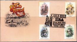 COINS-THE GOLD RUSH ERA-2 DIFF COVERS-AUSTRALIA-1981-SCARCE-FC-73