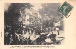 18 - CHER / Saint Florent - Concours De Pêche à La Ligne - 23 Juillet 1905 - Beau Cliché Animé - Saint-Florent-sur-Cher