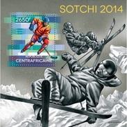 Centrafrica 2014, Winter Olympic Games Sochi, Skiing, Hockey, BF