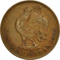 Cameroun, Franc, 1943, Pretoria, TTB+, Bronze, KM:5 - Cameroon