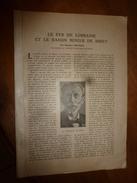 1917 LSELV :Fer De Lorraine Et Bassin Minier Briey (par Stanislas Meunier);ACIER Et La Guerre (par Lefèvre De St-Samson) - Documents