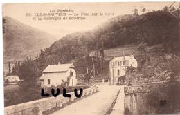 DEPT 65 : édit. Le Tréfle N° 693 : Luz Saint Sauveur Le Pont Sur Le Gave Et La Montagne De Solférino