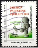 FRANCE Montimbramoi Stamp Palestine Olivier - Olives - Huile D´olive - Cueillette Olive Oil Olivenöl Aceite De Oliva