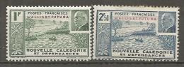 WALLIS -  Yv. N°  90,91   *   Pétain  Cote  3 Euro  BE R 2 Scans - Wallis-Et-Futuna