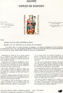 Andorre-1978-document De La Poste-Vierge De Sispony( N°4)