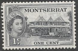 Montserrat. 1953-62 QEII. 1c MH. SG 137