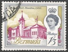 Bermuda. 1962-68 QEII. 1/3 Used. Upright Block CA W/M SG 172 - Bermuda