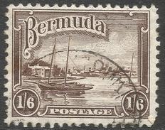 Bermuda. 1936-47 KGV. 1/6 Used. SG 106 - Bermuda