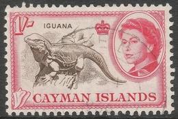 Cayman Islands. 1962-64 QEII. 1/- Used. SG 174 - Cayman Islands