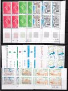 T 00573 - France, 15 Coins Datés Neufs Luxe, Conseil De L'Europe, Faciale 22.00 € - Coins Datés