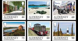 Alderney - Postfris / MNH - Complete Set Landschappen 2017