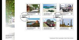 Alderney - Postfris / MNH - FDC Landschappen 2017