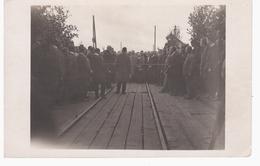 Jauna Lielupes   Railway Eisenbahn 24.08.1922 NICE OLD PHOTO 2 Scans - Lettonie