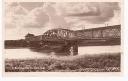 Daugavpils Dzelzsceja Tilts Railway Eisenbahn 1932 NICE OLD PHOTO 2 Scans - Lettonie
