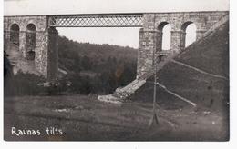 Raunas Tilts Bridge Railway Eisenbahn 1931 NICE OLD PHOTO 2 Scans - Lettonie