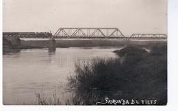 Skrunda Tilts Bridge Railway Eisenbahn Ca 1920 NICE OLD PHOTO 2 Scans - Lettonie