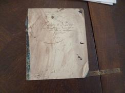 Manuscrit Règles Recettes A Observer Dans La Confection Des Lettres Rapor Officiels 1703 + Recettes Poulet Terrine Baba - Manuscripts