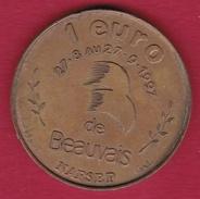 France - Beauvais - 1 Euro - 1997 - Euros Des Villes