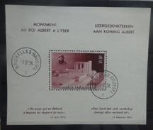 BELGIE  1938     Blok 8      Gestempeld     CW  20,00