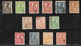 1919/1920  - Ferdinand Grand Buste / Papier Blanc Mi No 251y-263y Et Yv No 264 ... Serie Complete - 1918-1948 Ferdinand, Charles II & Michael