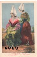 DEPT 44 : édit. F Chapeau Nantes N° 145 : Demoiselles De Pornic Vers 1830 La Leçon De Coquetterie - Pornic