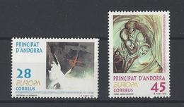 ANDORRE ESPAGNOL . YT 222/223  Neuf **  Europa 1993