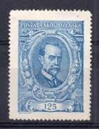 CZECHOSLOVAKIA  1920, MNH , MICHEL 161b  - ULTRAMARINE
