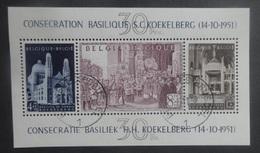 BELGIE  1952     Blok  30    Gestempeld     CW  185,00