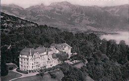 Chexbres, Hôtel Du Signal Et Parc Vu D'avion (1477) - VD Vaud