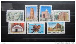 Kirgistan 1993 MNH** Mi. Nr. 5-11 A
