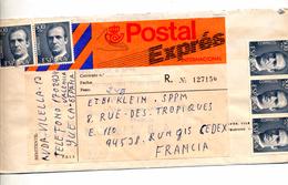 Lettre Expres Circulé ? - 1931-Oggi: 2. Rep. - ... Juan Carlos I