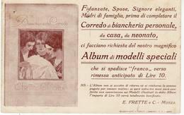 2367 MONZA FRETTE TELERIE TARGHETTA - Advertising