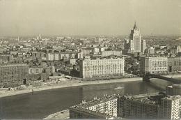 Mosca, Moscow (Russia, Urss, CCCP) Panorama Della Città E Del Fiume Moscova Dall'Hotel Ukraina, View, Ansicht - Russia
