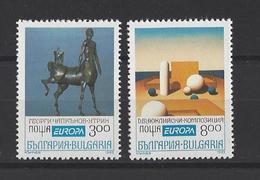 BULGARIE . YT 3505A/3505B  Neuf **  Europa 1993