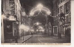 Orléans  Fêtes Du 500ème Anniversaire De Jeanne D'Arc En 1929 Illuminations Rue Hallebarde - Orleans