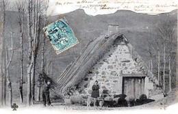 L'Auvergne - Une Habitation Dans La Montagne - Très Beau Plan Animé - Précurseur - Auvergne Types D'Auvergne